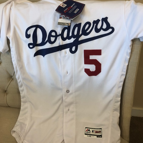huge discount f8125 6774f Authentic Los Angeles Dodgers Jersey #5 Seager NWT